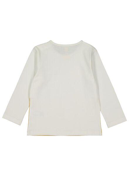 baby t-shirt geel geel - 1000014269 - HEMA