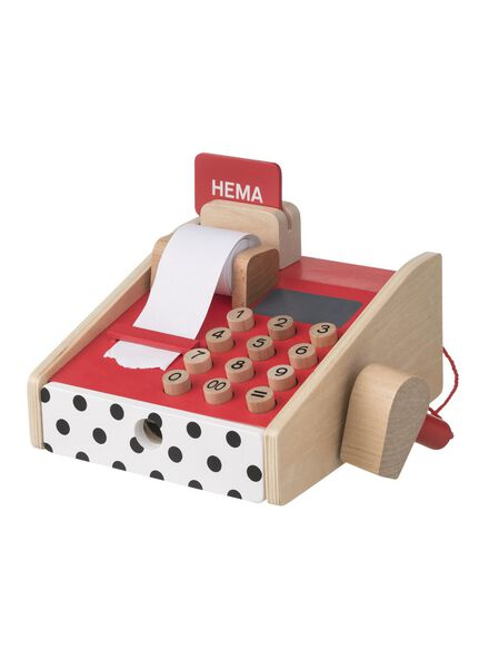 houten kassa 13.5x16 - 15122391 - HEMA