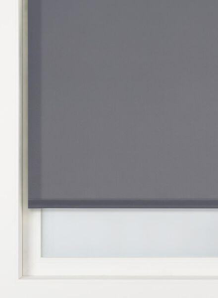 rolgordijn uni lichtdoorlatend donkergrijs uni lichtdoorlatend - 7410336 - HEMA