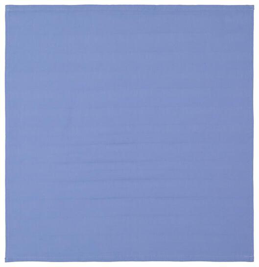 theedoek - 65 x 65 - katoen - blauw - 5490028 - HEMA