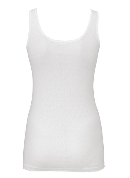 2-pak dameshemden katoen wit wit - 1000006556 - HEMA