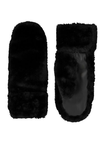 dameswanten touchscreen zwart zwart - 1000014466 - HEMA