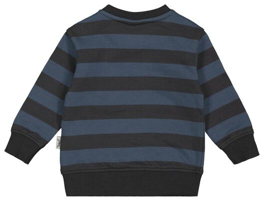 babysweater strepen tijger blauw 86 - 33106245 - HEMA