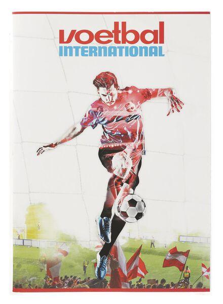 schrift A4 gelinieerd Voetbal International - 14940211 - HEMA