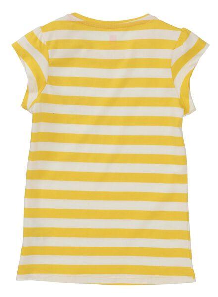 kinder t-shirt geel geel - 1000013032 - HEMA