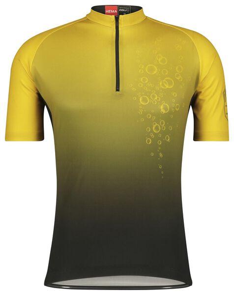 fietsshirt champagne zwart XL - 16100045 - HEMA