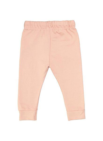 baby sweatbroek roze roze - 1000014711 - HEMA