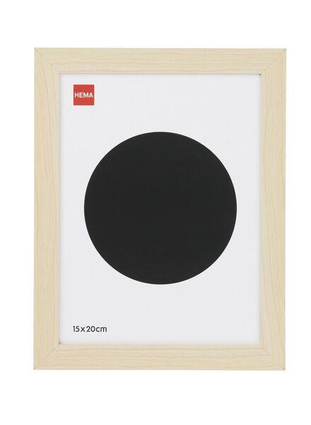 fotolijst 15 x 20 cm 15 x 20 hout - 13680022 - HEMA
