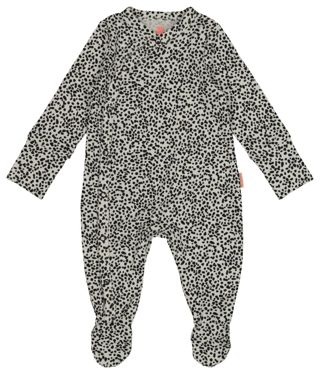 HEMA Newborn Jumpsuit Met Bamboe Zwart (zwart)