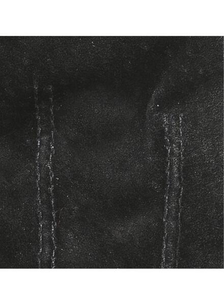 dameshandschoenen suède zwart - 1000016848 - HEMA
