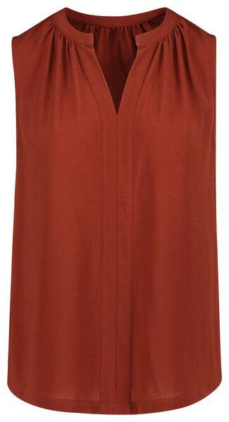 dames top bruin bruin - 1000019442 - HEMA