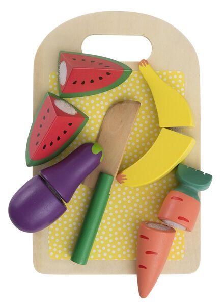 houten groente en fruit set - 15110272 - HEMA