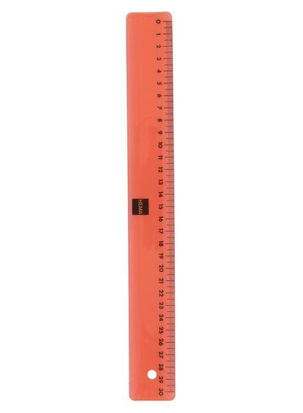 flexibele liniaal 30 cm - 14522545 - HEMA