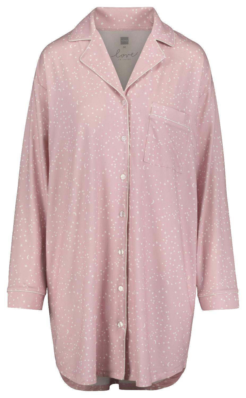 HEMA Damesnachthemd Lichtroze (lichtroze)