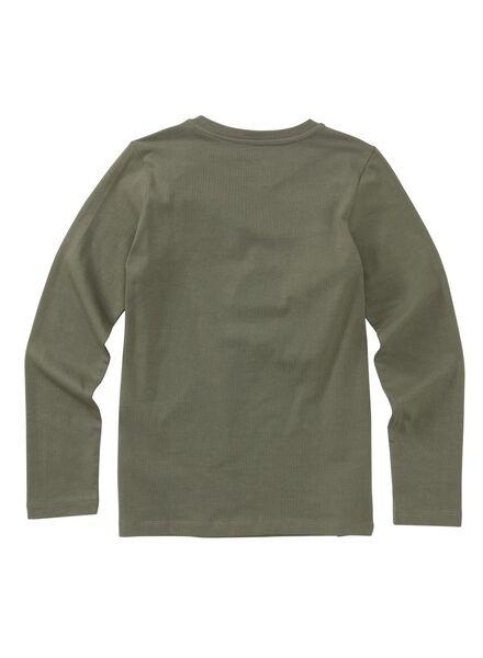 kinderpyjama legergroen legergroen - 1000011772 - HEMA