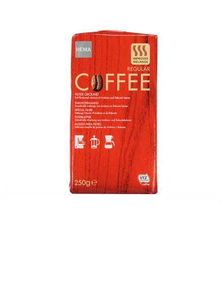filterkoffie regular - 250 gram - 17110010 - HEMA