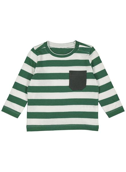 baby t-shirt groen groen - 1000014270 - HEMA