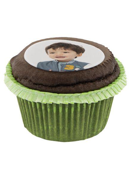 fotocupcake chocolade 12 stuks chocola 12 - 6330030 - HEMA