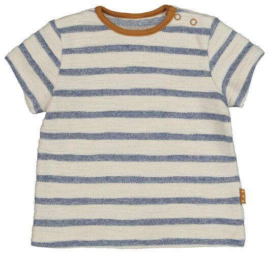 newborn t-shirt structuur wit wit - 1000020347 - HEMA