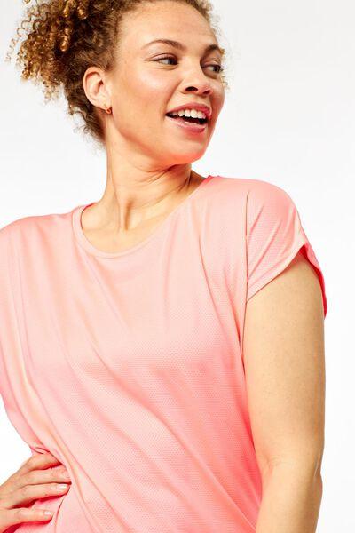 dames sportshirt loose fit roze roze - 1000024237 - HEMA
