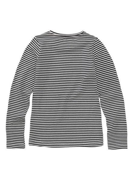 kinder t-shirt donkerblauw donkerblauw - 1000010986 - HEMA