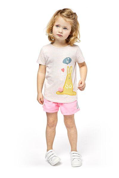 kindershort roze roze - 1000018509 - HEMA