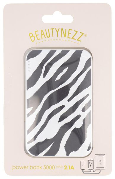 powerbank Beautynezz - 5000 mAh - 2.1A - 14950056 - HEMA