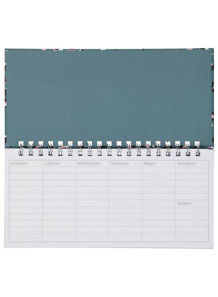 weekplanner - 13.5 x 27.5 - 14600250 - HEMA