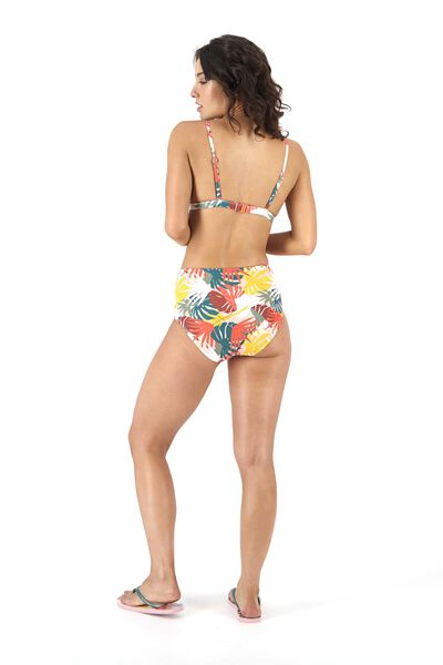 dames bikinislip high waist roze roze - 1000017942 - HEMA