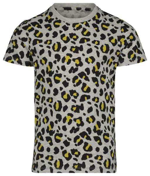 kinder t-shirt - mini-me grijs 98/104 - 30879029 - HEMA