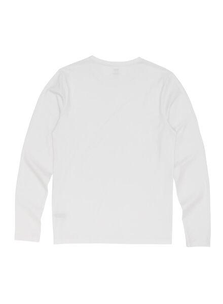 heren t-shirt wit wit - 1000009581 - HEMA