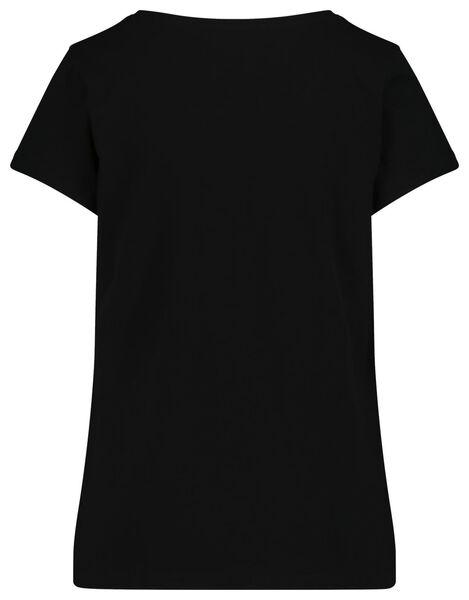 damesshortama zwart zwart - 1000018756 - HEMA