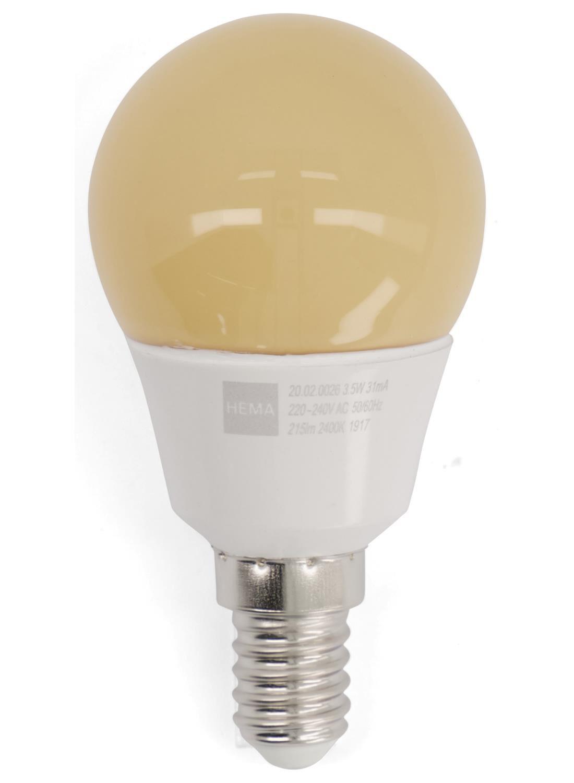 HEMA LED Lamp 22W – 215 Lm – Kogel – Flame (wit)