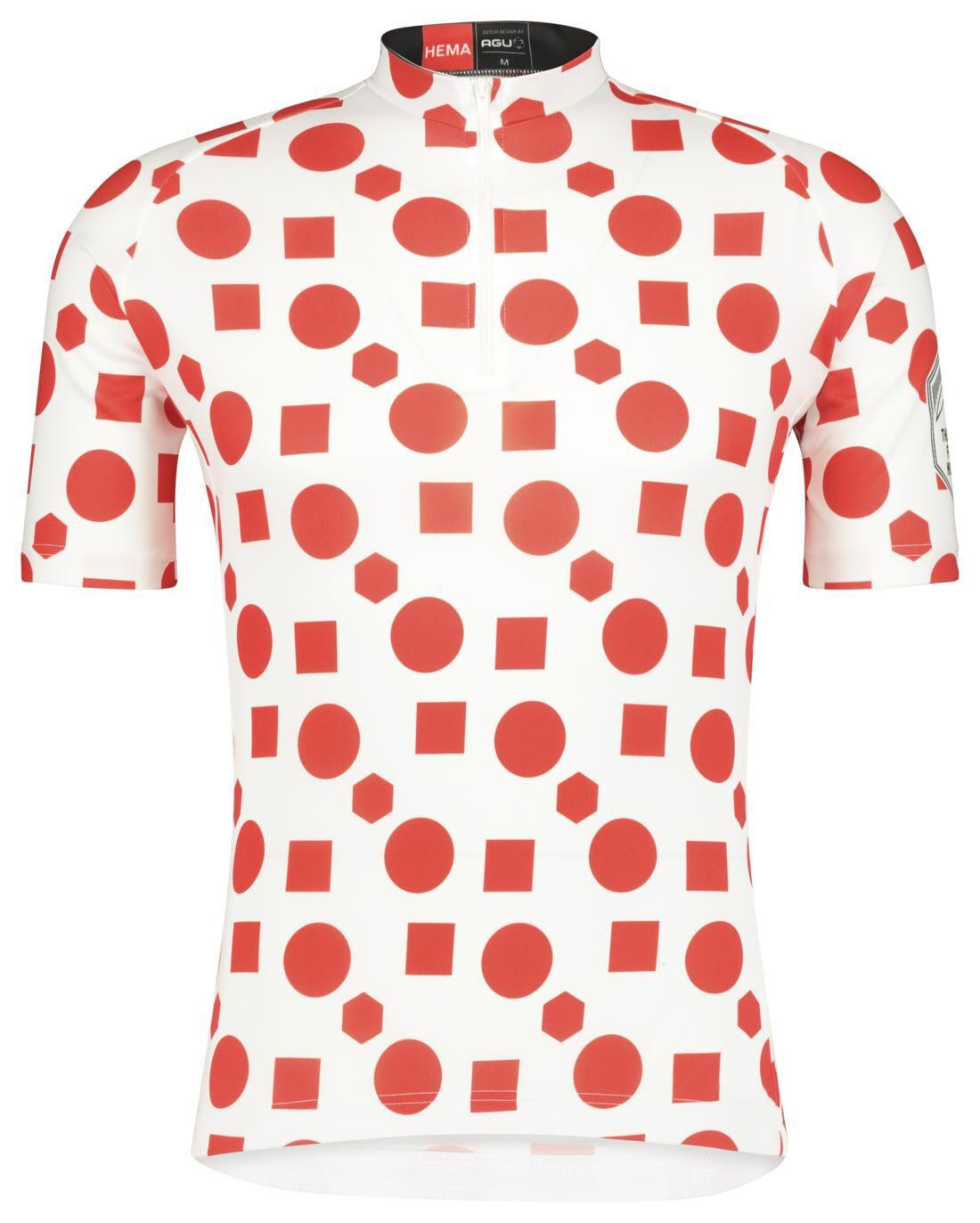 HEMA Fietsshirt Berg Rood (rood)