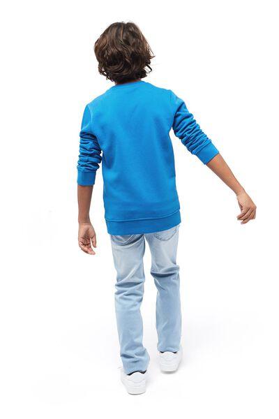 kinder jeans skinny fit lichtblauw 158 - 30765681 - HEMA