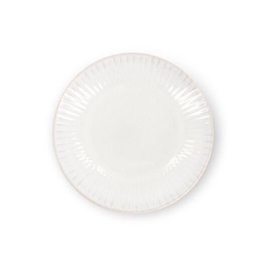 ontbijtbord - Ø20 cm - France - reactief glazuur - wit - 9602271 - HEMA