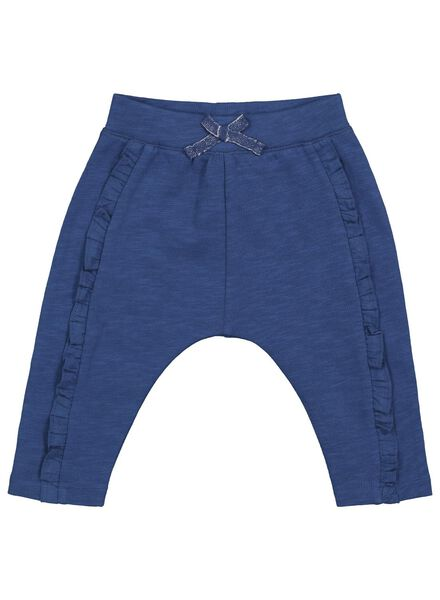 baby sweatbroek donkerblauw 92 - 33078626 - HEMA