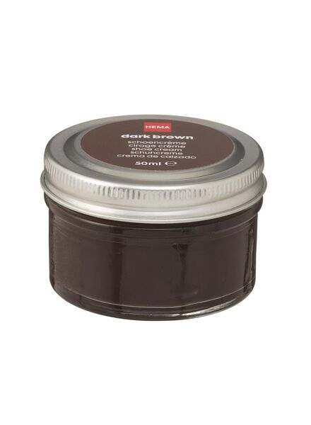 schoencrème donkerbruin - 20500078 - HEMA