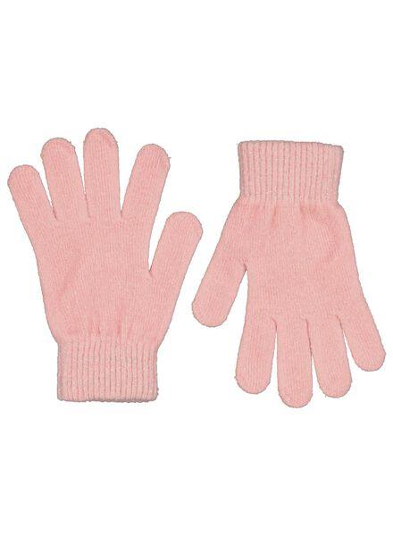 kinderhandschoenen roze roze - 1000015385 - HEMA
