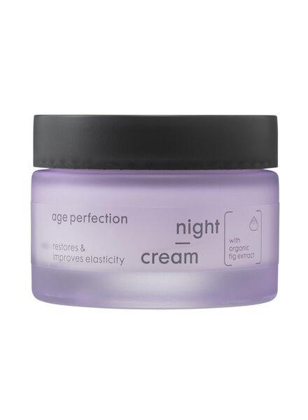nachtcrème age perfection vanaf 60 jaar - 17870051 - HEMA