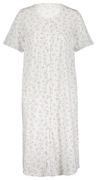 damesnachthemd bloemen lichtroze lichtroze - 1000024216 - HEMA