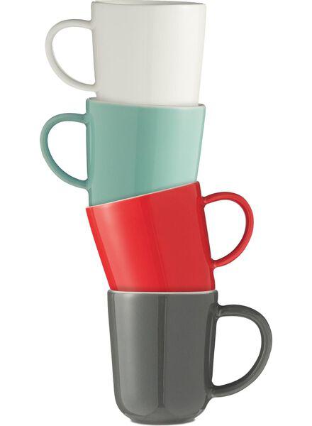 koffiemok - 130 ml - Chicago - wit - 9650503 - HEMA