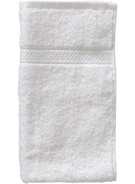 gastendoek - 30 x 55 cm - zware kwaliteit - wit - 5202600 - HEMA