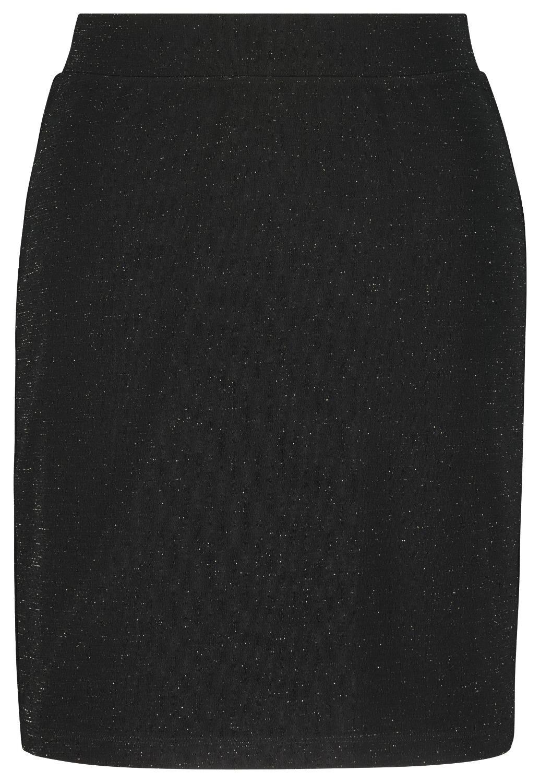 HEMA Damesrok Glitter Zwart (zwart)