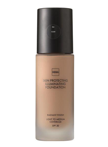 skin protecting illuminating foundation Rose 04 - 11291204 - HEMA