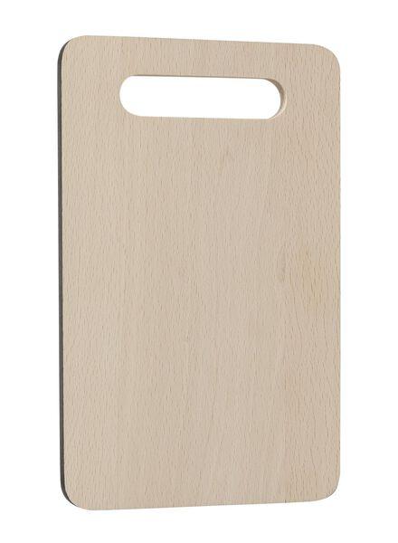 snijplank 24x15 hout - 80810064 - HEMA