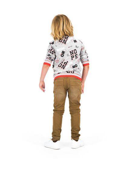 kindersweater grijsmelange grijsmelange - 1000013756 - HEMA