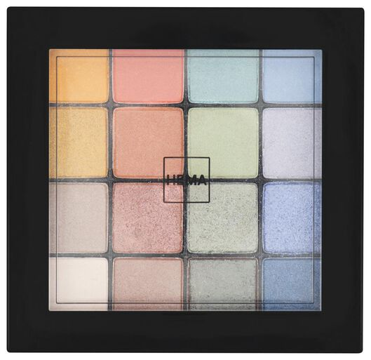 oogschaduwpalete bright - 11218509 - HEMA