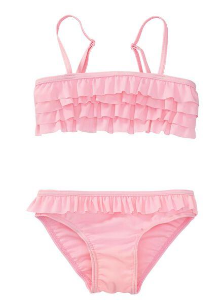 meisjes bikini roze roze - 1000002668 - HEMA