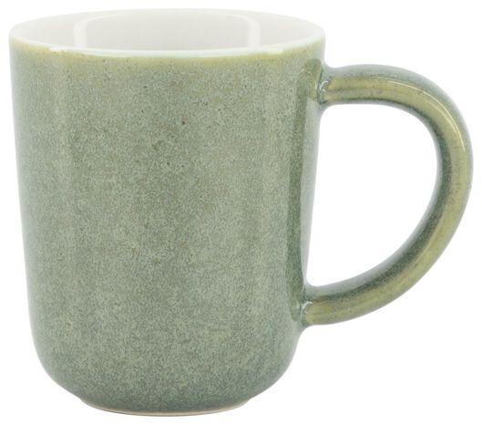 espressomok Chicago 80 ml - reactief glazuur - groen - 9602155 - HEMA